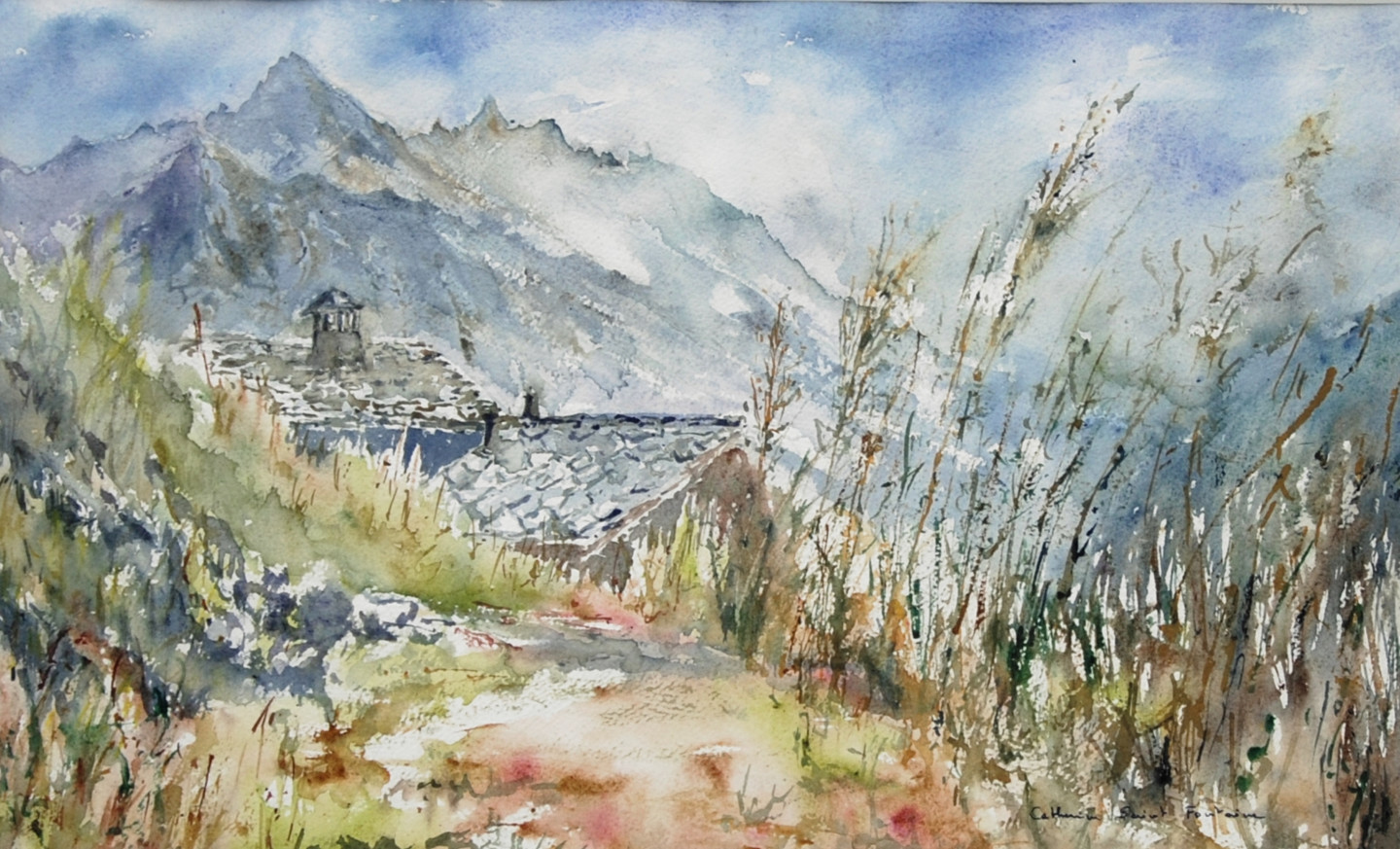 catherinesaintfontaine - Volovron, Val d'Herens