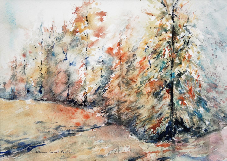 Catherinesaintfontaine - l'orée du bois
