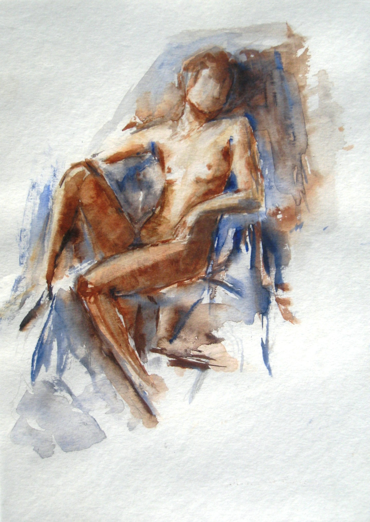 Catherinesaintfontaine - femme assise