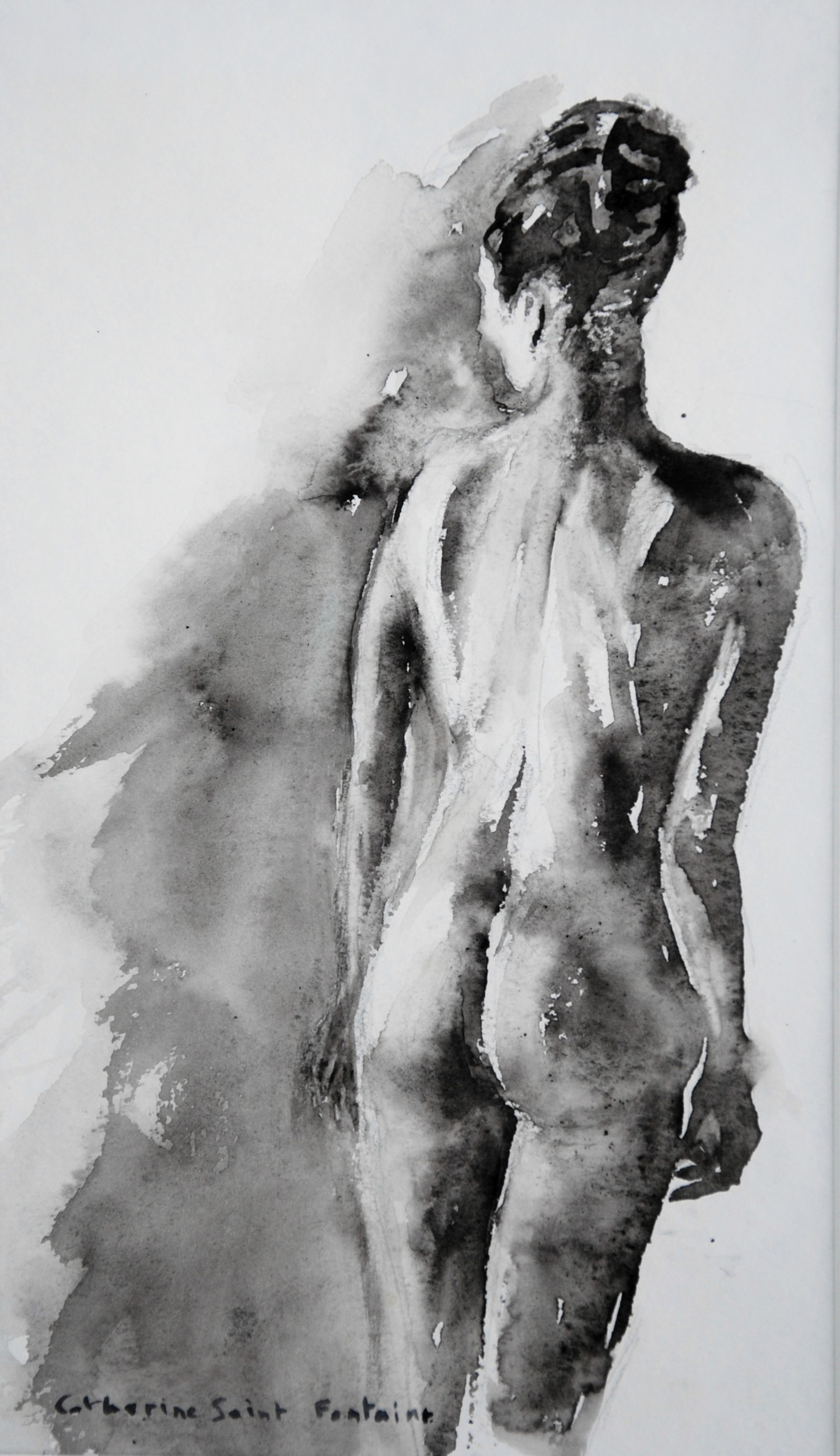 Catherinesaintfontaine - femme de dos