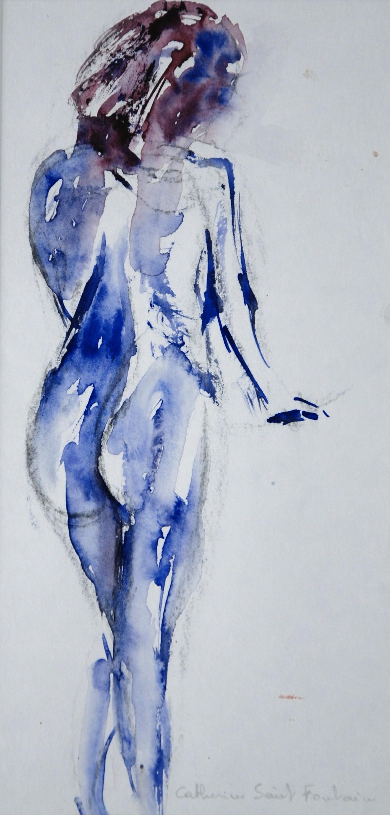 Catherinesaintfontaine - femme en bleus
