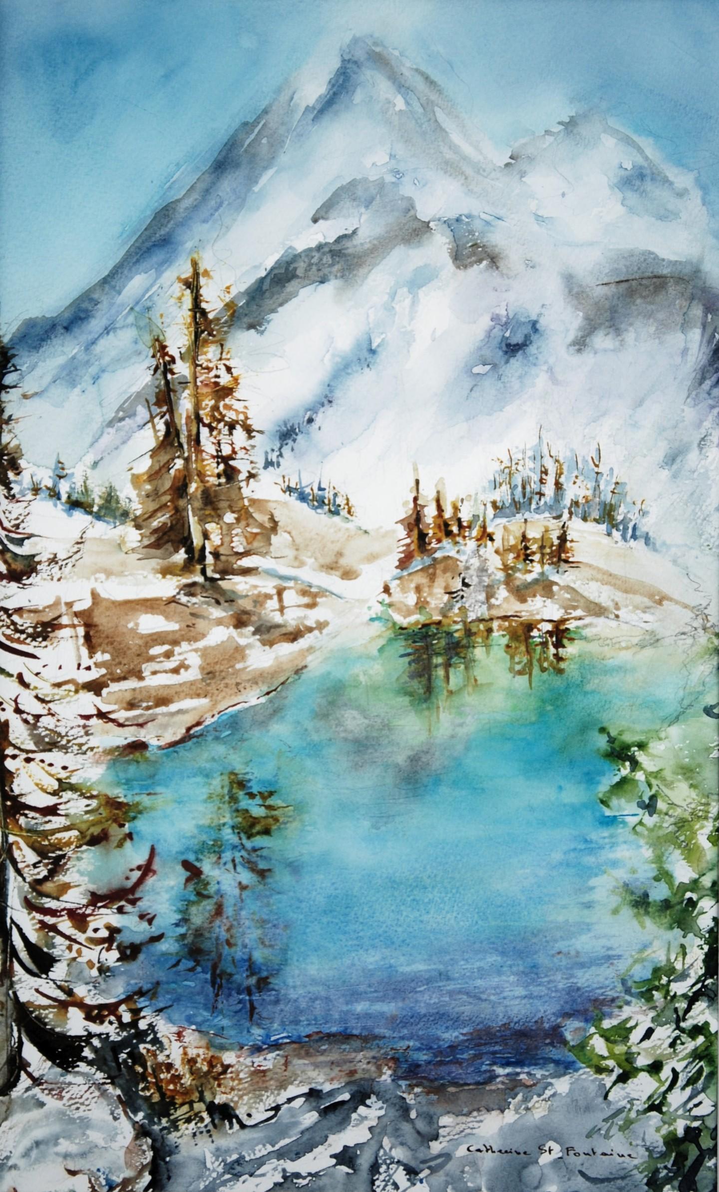 catherinesaintfontaine - lac bleu