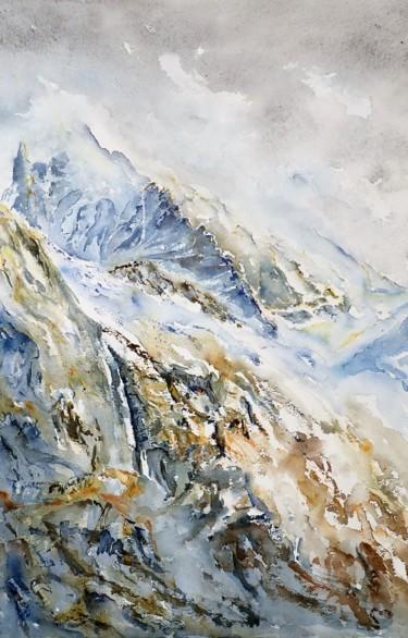 haute montagne arete nord dent blanche